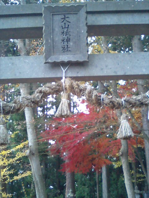 神社の小径18;大山神社