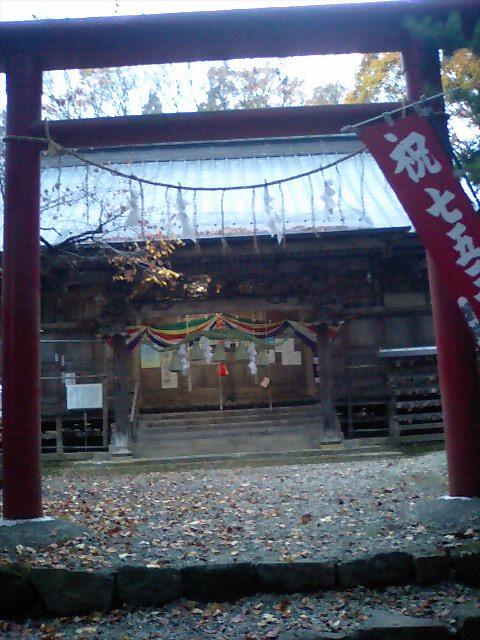 神社の小径15;磐椅神社