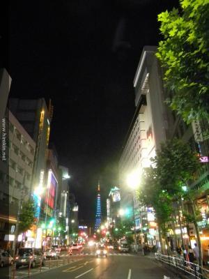 六本木ROAビルから東京タワー