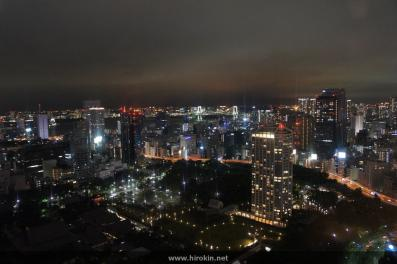 東京タワーから台場を望む