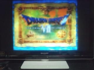 ドラクエ7プレイステーション版フルHD画面に表示