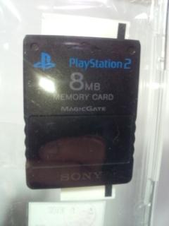 PS2の8MBメモリーカード認識されない
