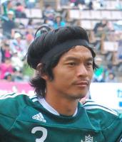 サッカー元日本代表松田直樹選手(Mr.マリノス)