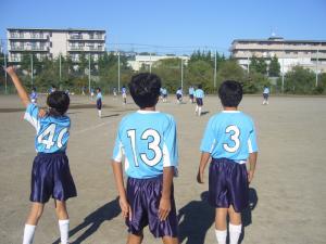 2010年11月3日(水)祝日L&LL練習試合@保木グラウンド