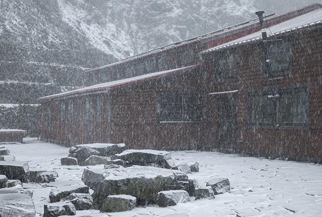 131016 雪降り
