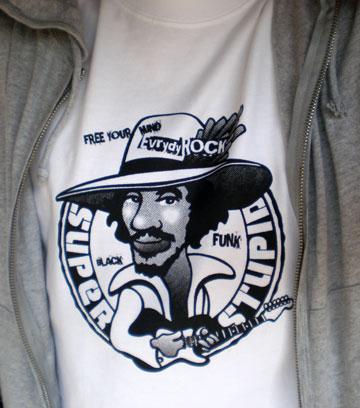 Eddie Hazel Funkadelic EverydayRock T Shirt Caricature