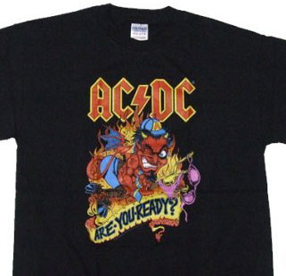 AC/DC Tシャツ Are You Ready?