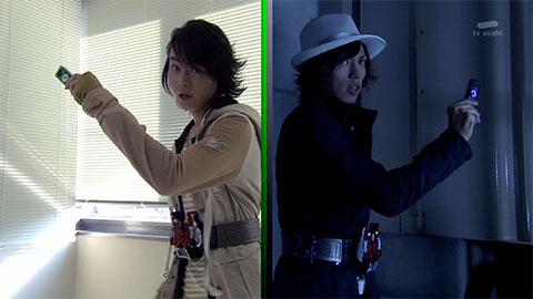 仮面ライダーW-第12話「復讐のV/怨念獣」