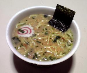 太麺堂々 醤油豚骨 スーパー版(できあがり)