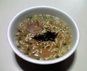 究麺 魚介豚骨醤油(できあがり)
