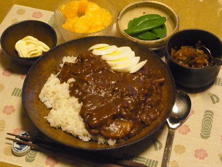 4カレーライス定食