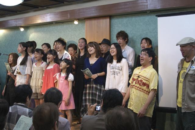 ミュージカルの歌会