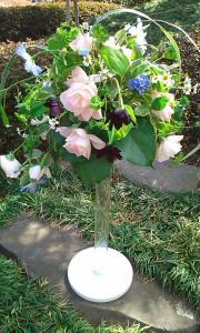 ほぐれた装飾的花嫁の花束