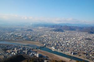 岐阜城から北西 縮小版300