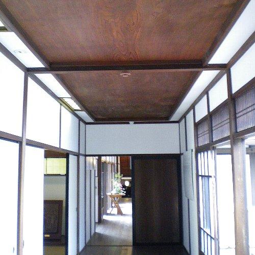 別邸・鏡天井廊下