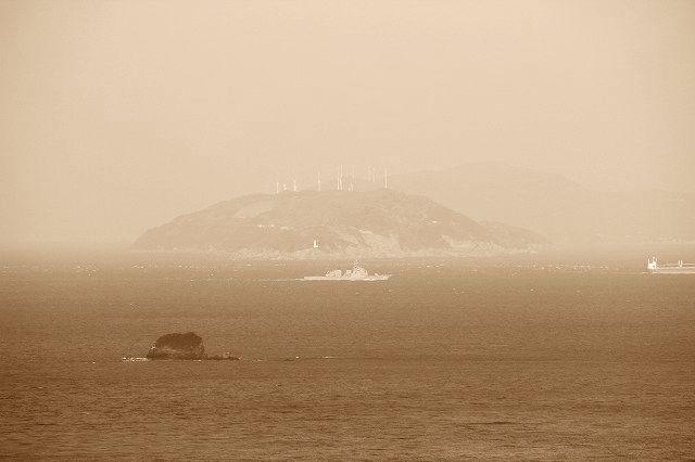 海の国道R197(豊予海峡)