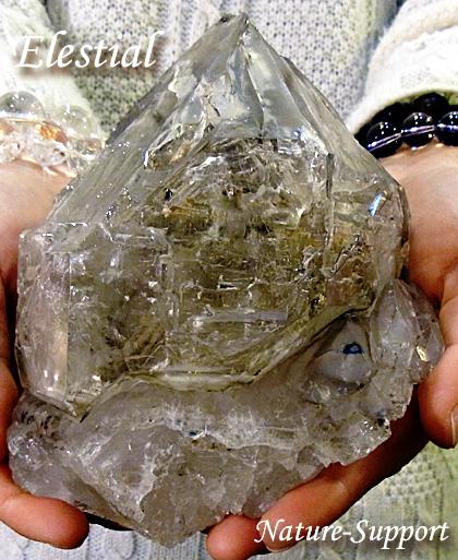 ジャカレー水晶 エレスチャル