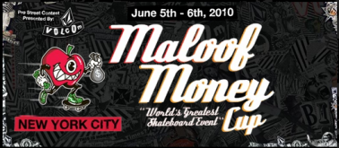 THE VOLCOM STREET PRO AT MAROOF MONEY CUP IN NYC
