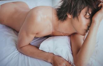 [男のプリケツ] 生田斗真ヌード 雑誌anan(アンアン)「THE COMPLETE SEX MANUAL」画像