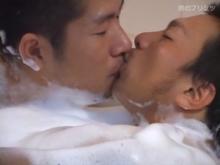 ゲイ動画:マジでキスする5秒前 ガッチリソープ編