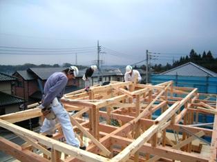 会沢邸 建前(2)