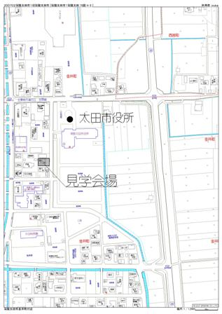 関内邸 地図