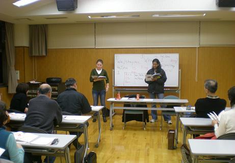 ナイリアさん・アムルタさんによる教室