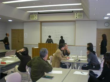 志村金大教授の講義