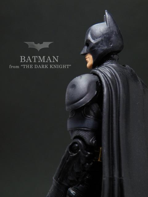 ダークナイト6インチアクションフィギュア バットマン