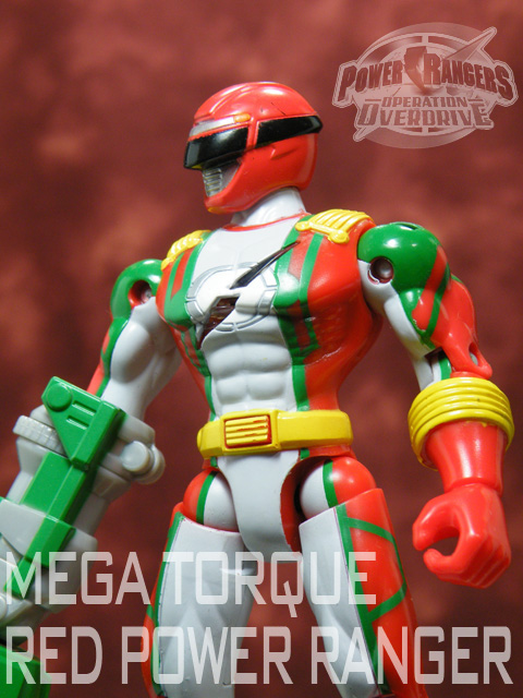 POWER RANGERS OPOD MEGA TORQUE RED RANGER