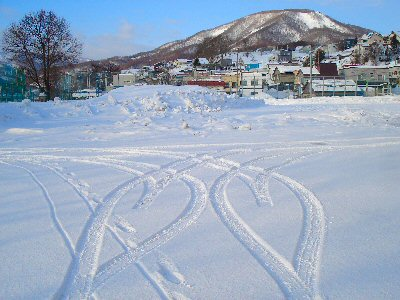 雪のハート2
