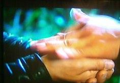 ヘミョンの手