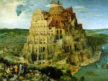 バベルの塔 ブリューゲル画