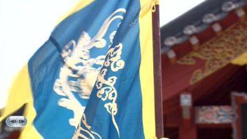 12ちぎられた旗が元通りに