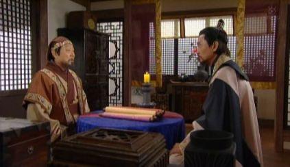 2114王様を説得しチョンミョン王女とユシンの婚礼を行えるようにする