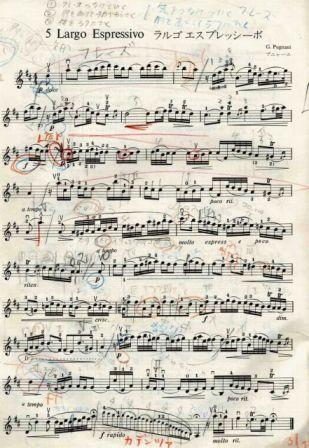ラルゴ・エスプレッシーボの楽譜