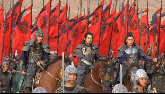風の国2132 赤旗のムヒュル軍