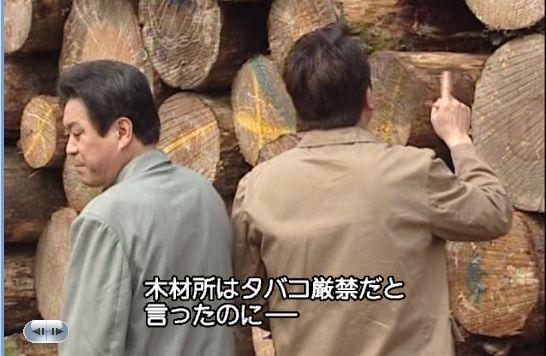 木材を数えるフリをするチド