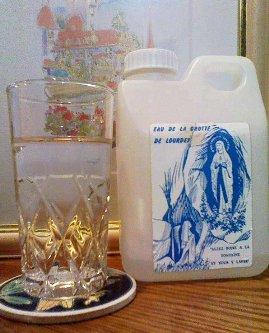 ルルドのお水