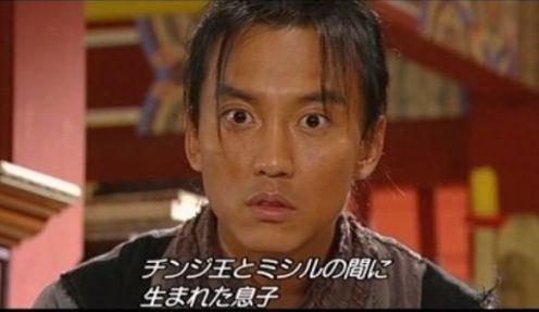 善徳3323 自分がミシルの息子ヒョンジョンだとわかり驚くピダム
