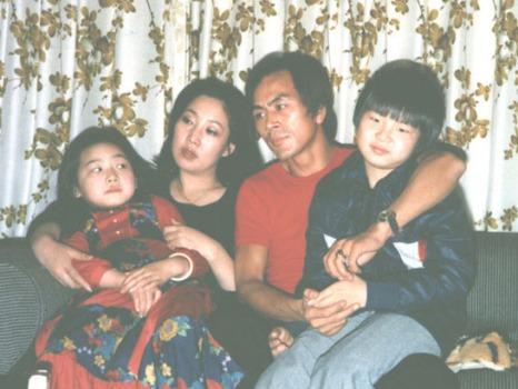 ソン・イルググ家族(子供のとき)