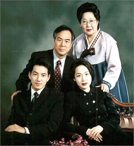ソン・イルググ家族