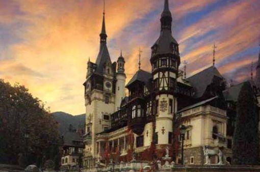 ルーマニアの夕日