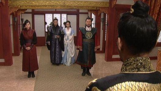 風2501 立太子礼のお祝いにテソ陛下がヨン姫をお遣わしに