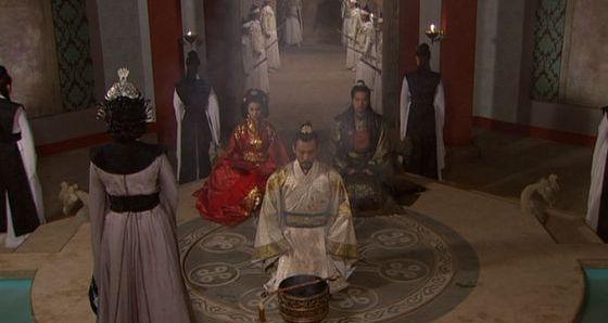 高句麗王家の婚姻の儀式風2545