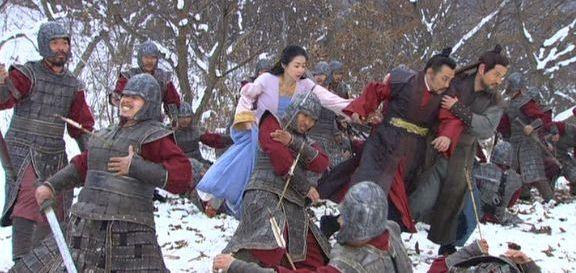 風2729 ムヒュルたちの放つ矢に倒れるペグク軍
