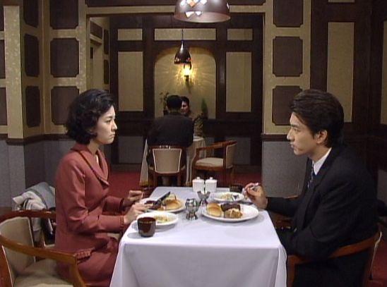 人生12817 昼食を一緒にする二人