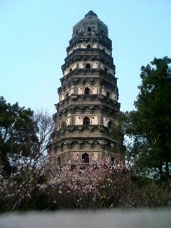 蘇州のシンボル虎丘塔