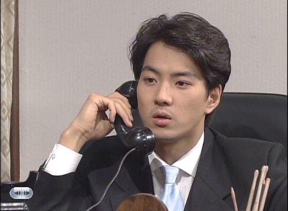 チュモン唇なヒョンシク お電話かけシーン