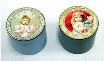 フランスの輸入菓子 biscuit mignon mignonは小さいという意味。1900年頃